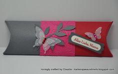 Pillowbox, verlängert Stampin Up, Crafts, Manualidades, Stamping Up, Handmade Crafts, Diy Crafts, Craft, Arts And Crafts, Crafting