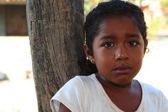 Jenny llorando. Afro-Latino. Mexico.