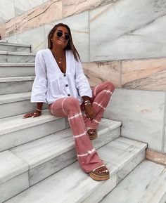 Boho Outfits, Pretty Outfits, Spring Outfits, Casual Outfits, Cute Outfits, Fashion Outfits, Womens Fashion, Surfer Girl Outfits, Mode Ootd