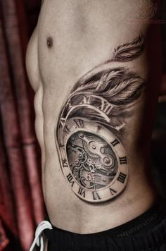 Tree Clock Tattoos | pin aaqjpg picture to pinterest