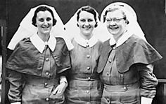 Australian nurses of the 2/4 Casuality Clearing Station evacuated on the Vyner Brooke. Only Sister Mavis Hannah (centre) survived the prisoner  in Sumartra. Matron Irene Drummond (right) was killed in the massacre on Banka Island. Sister Dora Gardam (left) died 4 April 1945 as a prisoner of war. (AWM  120519)