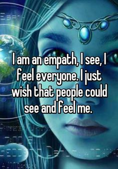 "Being an Empath is when you are affected by other people's energies and have an ornate ability to intuitively feel and perceive others. ""Your life is unconsciously influenced by others' desires, wishes, thoughts, and moods. Being an Empath is much Empath Traits, Intuitive Empath, Empath Quiz, Empath Abilities, Psychic Abilities, Highly Sensitive, Sensitive People, Reiki, Trauma"