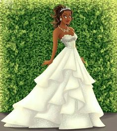 Tiana Bride by Archibald Art on Instagram f0e504619803