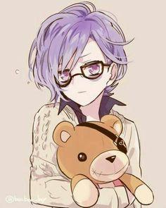 Kanato Sakamaki. He's damn precious! I truly love him, it's a kinda weird love. (? Bæ Things.