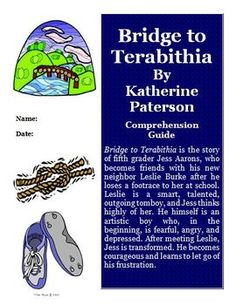 This is a FREE reading comprehension activity guide and answer key for Bridge to Terabithia by Katherine Patterson.  It contains 21 pages of activities ...