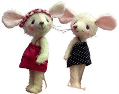 Carrie, mini mouse soft toy sewing pattern download