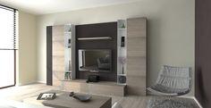magnetic modular TV wall