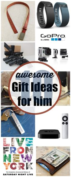 10 Awesome Gift Ideas for the guy in your life! #Dating #GiftsForHim