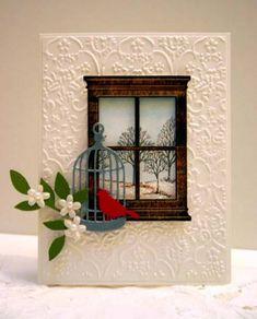 layered window card