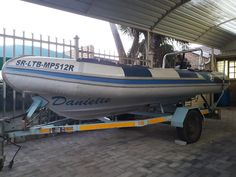 Rib Inflatable Dinghy on Trailer with Mercury Outboard Motor. New Propeller on the dinghy! Mercury Outboard, Junk Mail, Outboard Motors, Dinghy, Water Crafts, Boat, Jon Boat, Boats, Handmade Crafts