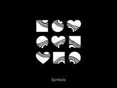Aigua Type — Sergi Delgado | Art & Design Cool Typography, Op Art, Darth Vader, Display, Contemporary, Cool Stuff, Inspiration, Fictional Characters