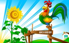 Yellow Sunflower And Crock On Wood Good Day Image Beatles, Good Day Images, Good Morning Tuesday, Yellow Sunflower, Tinkerbell, Disney Characters, Fictional Characters, Disney Princess, Roosters