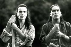 Daniel Day-Lewis & Eric Schweig in The Last of the Mohicans (1992)