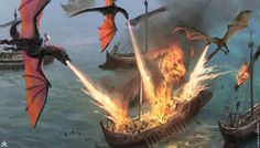 The Concept Art of Game of Thrones Season 6