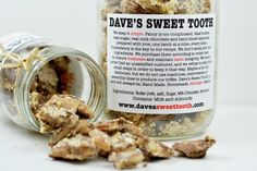 Soft chocolate toffee from Dave's Sweet Tooth.