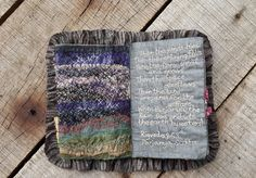 Million Little Stitches: Monsoon - A Fiber Book