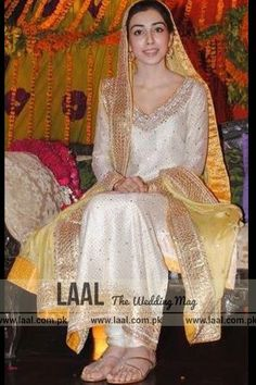 Latest Bridal Mayun and Mehndi Dresses -Laal(the wedding mag)