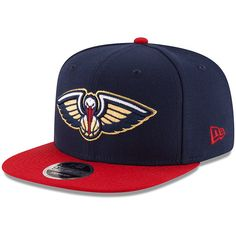 new styles a0ce1 c731d Your fandom will be on full display when you wear this New Orleans Pelicans  Original Fit adjustable snapback hat from New Era. The graphics on this cap  are ...