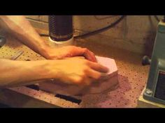 Foam Decoy Body part 2 shaping the decoy - YouTube