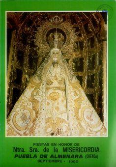 Fiestas en Puebla de Almenara (Cuenca) en honor de la Virgen de la Misericordia. Del 6 al 12 de septiembre de 1990. #Fiestaspopulares #PuebladeAlmenara #Cuenca