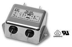 FE Filtro serie FE monofásico, buena atenuación dentro de un amplio rango de frecuencias. Baja corriente de fuga.