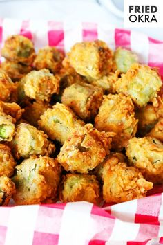 The best Fried Okra you've ever had — guaranteed! Featuring the South's favorite summertime veggie, fresh okra, dredged in flour and fried until golden. It's the perfect Southern side dish for the summer! This Fried Okra Recipe is equipped with amazing flavor thanks to a seasoned flour that can't be beat and tips for frying to perfection!