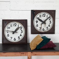 industrial clockface