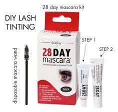 DIY Eyelash tinting