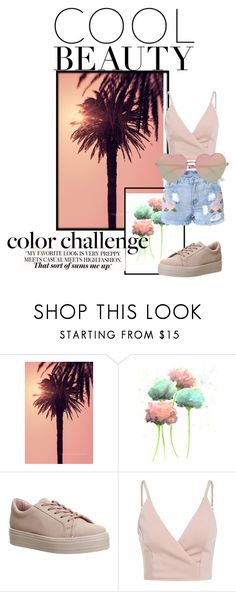 """""""Something New"""" by cookiedough417 ❤ liked on Polyvore featuring WALL, Office and River Island"""