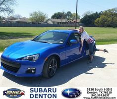https://flic.kr/p/FH1Cyj | Happy Anniversary to Leesa on your #Subaru #BRZ from Cate Young at Huffines Subaru Denton! | deliverymaxx.com/DealerReviews.aspx?DealerCode=XDJB