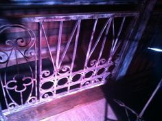 Custom made railings at Prohibition in Charleston, SC Railings, Charleston Sc, Neon Signs, Design, Art, Art Background, Floating Stairs, Kunst, Charleston