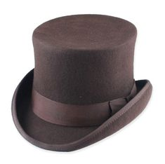 Deluxe John Bull Top Hat - Brown; $60 from Gentlemen's Emporium  Not inexpensive, but possibly a good compromise between the really expensive fabulous ones and the cheapy (yet still pricy) costume ones