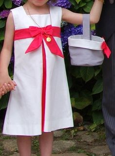 Robe fille cortège mariage