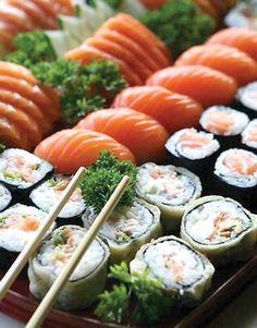 Comida japonesa: uma paixão.