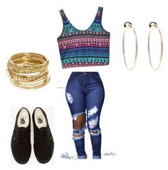 """""""Untitled #32"""" by queen-of-spadesxoxo on Polyvore featuring Vans, ABS by Allen Schwartz and Bebe"""