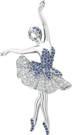 Van Cleef & Arpels Ballerine Clip
