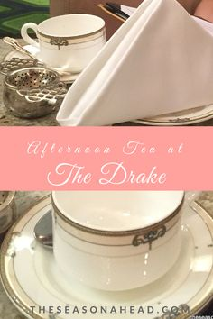 Afternoon Tea at The Drake Chicago