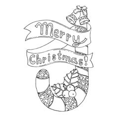 62 Best Christmas Free Coloring Pages Images On Pinterest Coloring