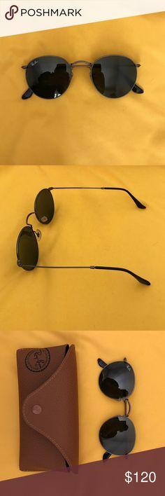 Ray Ban Round Sunglasses   Ray ban round sunglasses, Round sunglasses and  Rounding c8176b1bb4