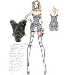 Atelier Versace for Mrs. Carter Tour