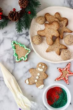 Make Christmas cookies a *little* healthier with this Spelt Sugar Cookie recipe.