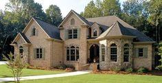 French Country House Plan with 3618 Square Feet and 5 Bedrooms(s) from Dream Home Source | House Plan Code DHSW15681