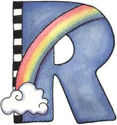 R for rainbow