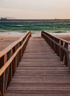A caminho da praia!