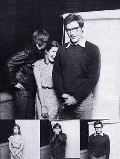 Star Wars Mark Hamill, Carrie Fisher & Harrison Ford