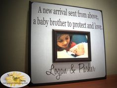 Really sweet for a new sibling gift