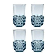 This Jellies Family Cocktail Glass Set Of 4 has been designed by the celebrated architect and designer Patricia Urquiola for the Italian manufacturer Kartell. Cocktail Bleu, Cocktail Rose, Cocktail Glass, Patricia Urquiola, Carafe, Kartell, Transparent, Shot Glass, Jelly