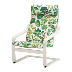 POÄNG Armchair IKEA Layer-glued bent birch frame gives comfortable resilience.