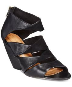 Corso Como Carrington Wedge Sandals  Just ordered this shoe, The Carrington in Taupe, I have the black, and they look so awesome with nice slacks or a nice maxi skirt, I love their classic look, oh to be Italian....<3!!!