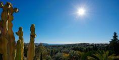 Zicht over de vallei van #Moraira. Links achter de Cap d´Or.